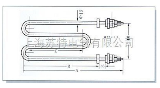 SLQ型空气用管状电热元件