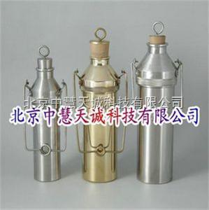 铜薄壁液体石油取样器/油品采样器 型号:SZH-500