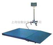 2吨平台秤(带斜坡),XK3190-A12 E电子地磅价格