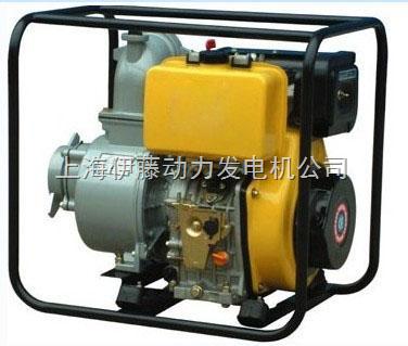 3寸柴油抽水机|小型便携式柴油水泵图片