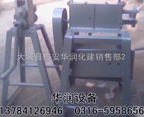 hr-手动电动两用型-安徽黄山铁皮压槽机弯头下料电动