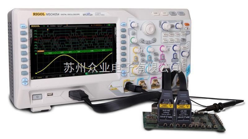 4+16通道混合信号示波器