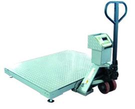SCS0.8*1米叉車移動式地磅秤