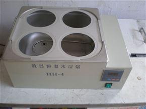 HH-4雙列四孔恒溫水浴鍋