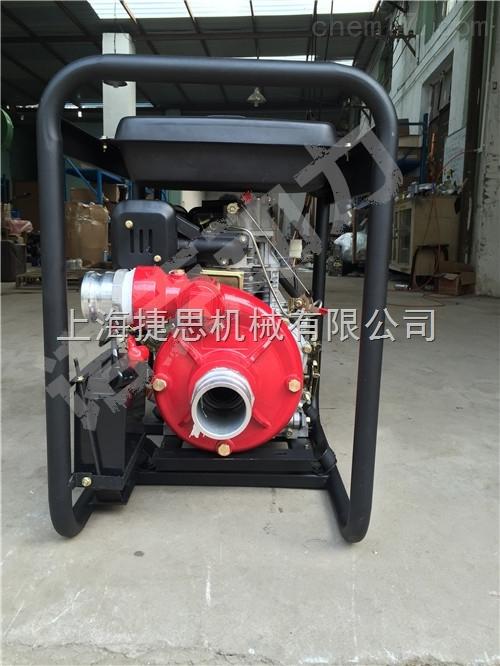 柴油高压抽水泵3寸电启动抽水机