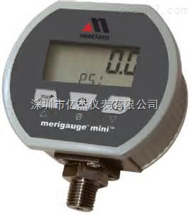 美国meriam---MPG2000 BBL本质安全型数字压力表