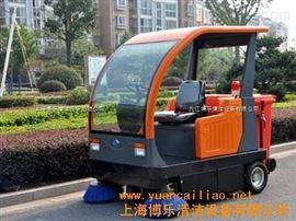 BL-1800廠區灰塵樹葉清掃用駕駛式掃地車