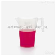 ISOLAB 进口蚀刻刻度有把烧杯 PP材质