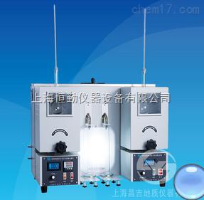 SYD-6536A石油产品蒸馏试验器(双管式)