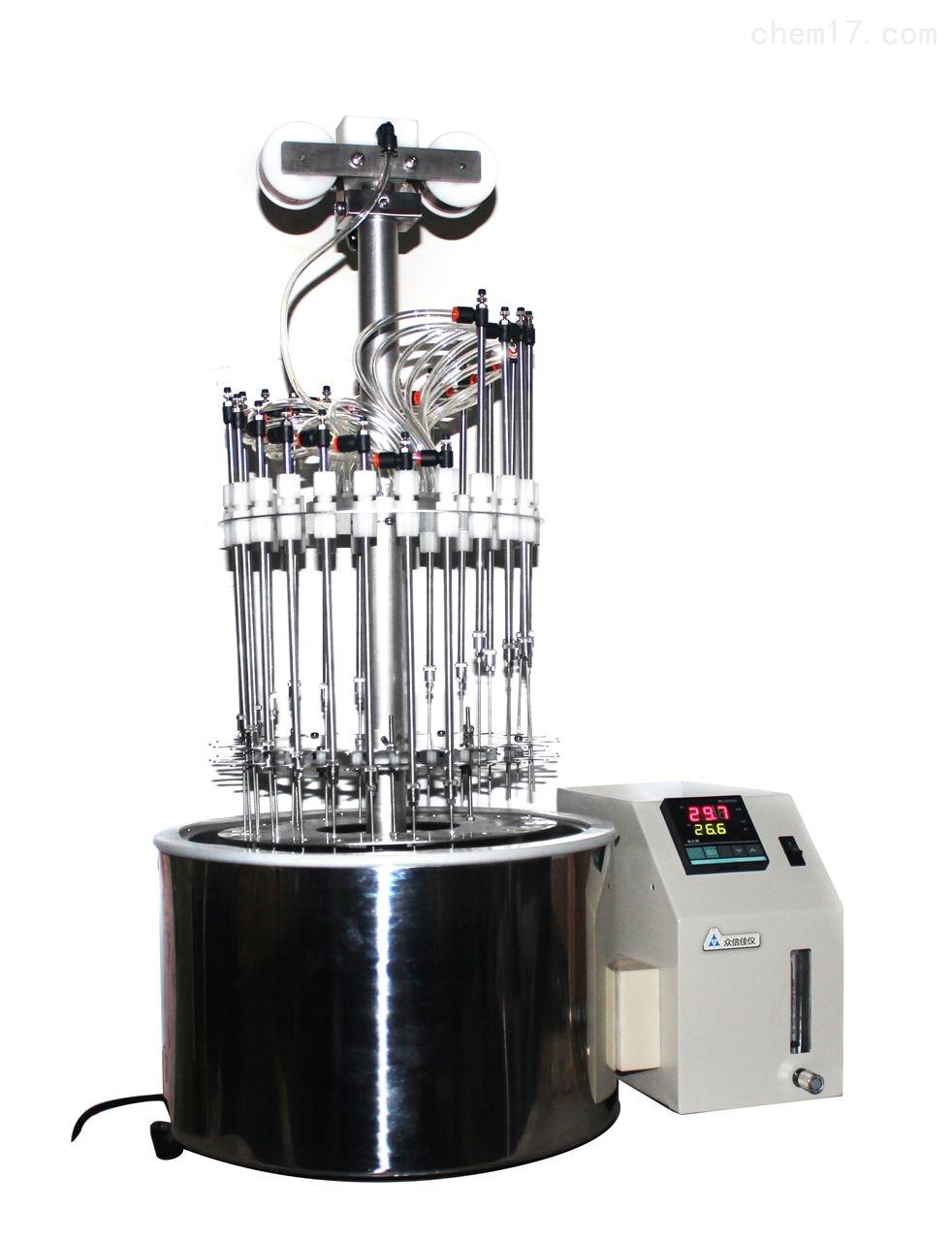 农残吹扫多功能氮吹浓缩仪