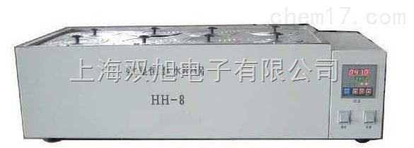 数显恒温HH-8水浴锅 双列八孔