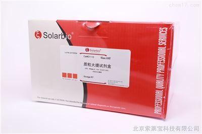 质粒大量提取试剂盒 solarbio