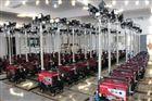 大功率升降月球灯-发电机移动升降照明灯-1000W移动式照明车