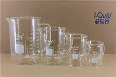 芯硅谷® H6027 厚壁带把烧杯,高硼硅料,100-1000ml