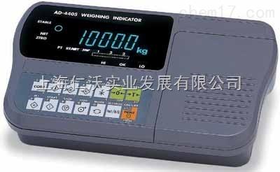 AD-4405A内置打印机继电器输出显示器 控制输出仪表AD4405A称重显示器