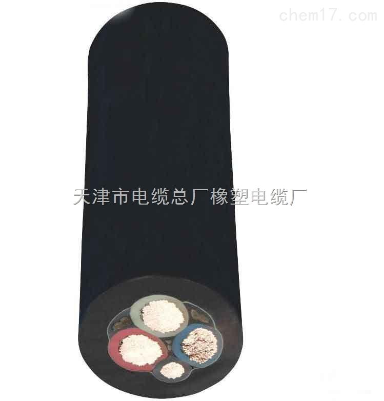 卷筒橡套电缆QXFW-J3*25+2*10电缆价格