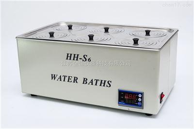 双列电子恒温水浴锅