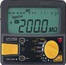 MY40-01日本横河YOKOGAW 绝缘表AMY40-01