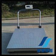 1.5米移動電子地磅物流公司用帶輪子2噸磅秤