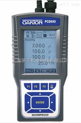 美国优特Eutech PCD650 多参数水质分析仪
