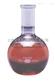 美国KIMBLE、 KIMAX平底短颈磨口烧瓶