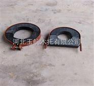 大型U型空调木托码 冷冻水管木托