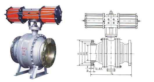 应用电动球阀的宗旨,就是对阀门的开,闭以及调节联动完成非人工的电气图片