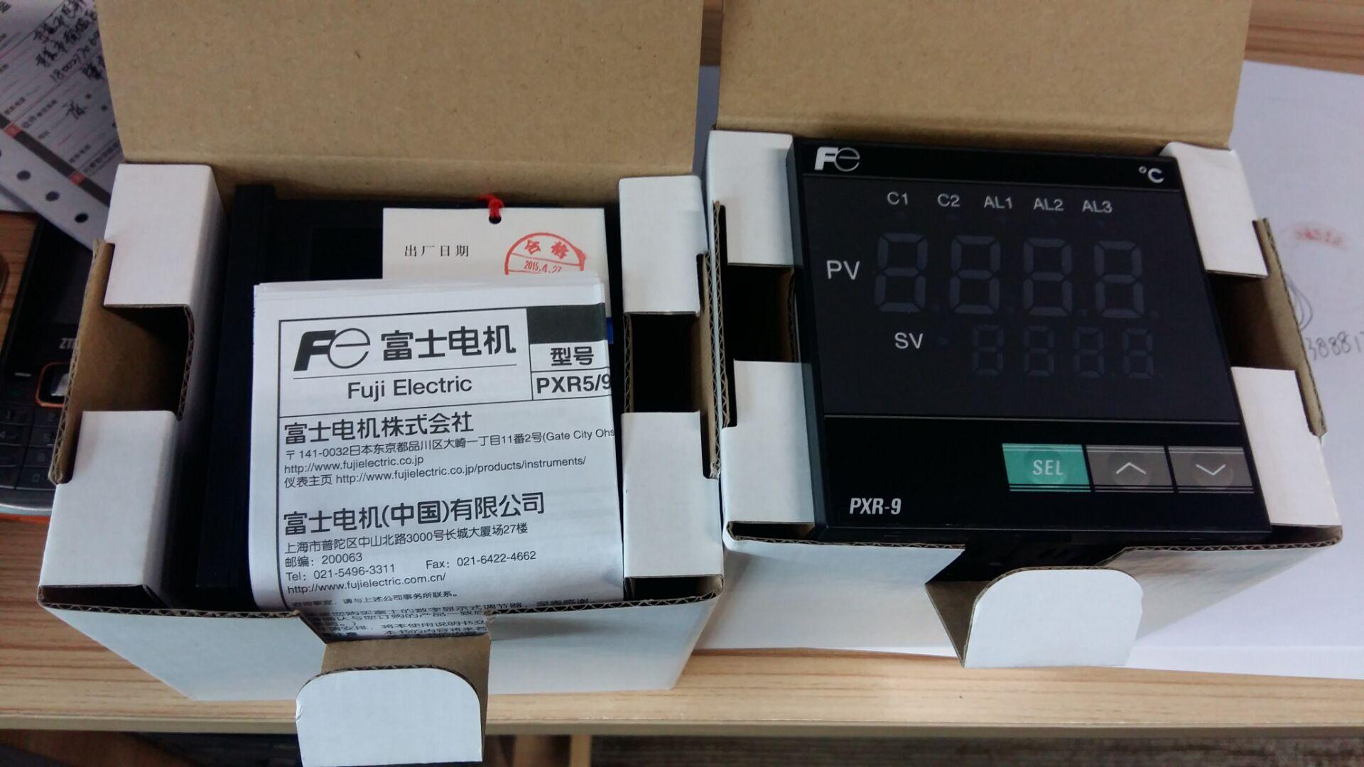 到货日本富士fuji温控仪pxr97cyi-8w000