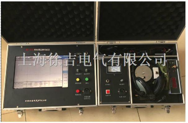 电源输入插座:本仪器使用50hz,220v交流电源供电,在充电和测试路 径