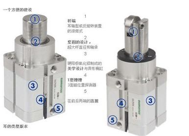 气缸传感器和中间继电器接线