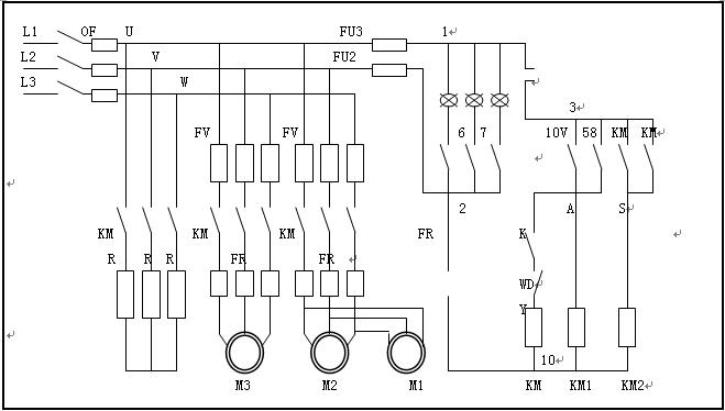 真空滤油机电器结构图之二