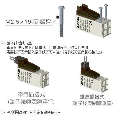 亚德客(airtac)cpv15系列电磁阀选型样本图片
