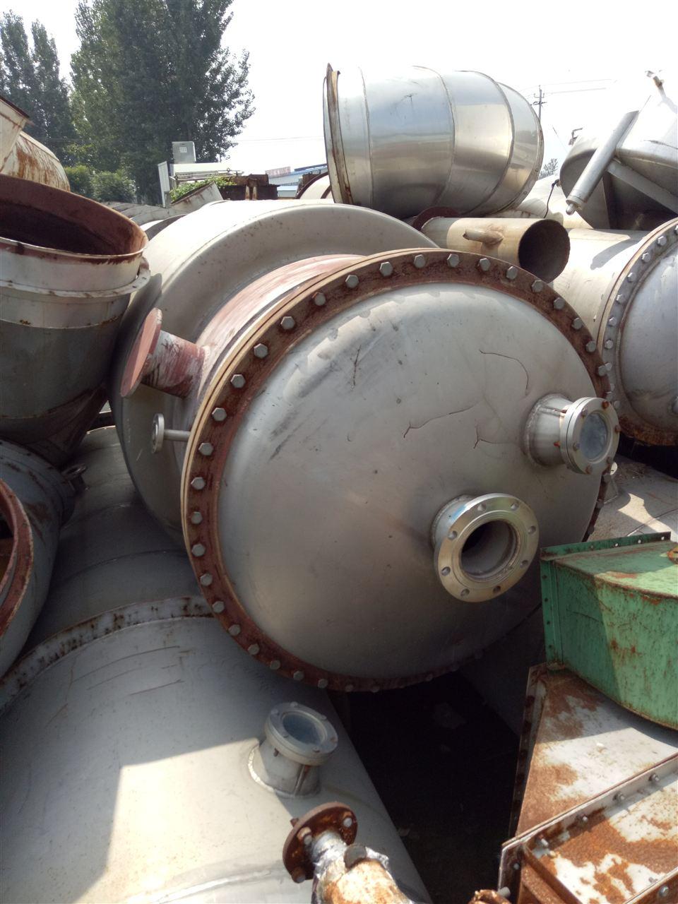 长期出售二手MVR蒸发器-华谊二手油脂化工设
