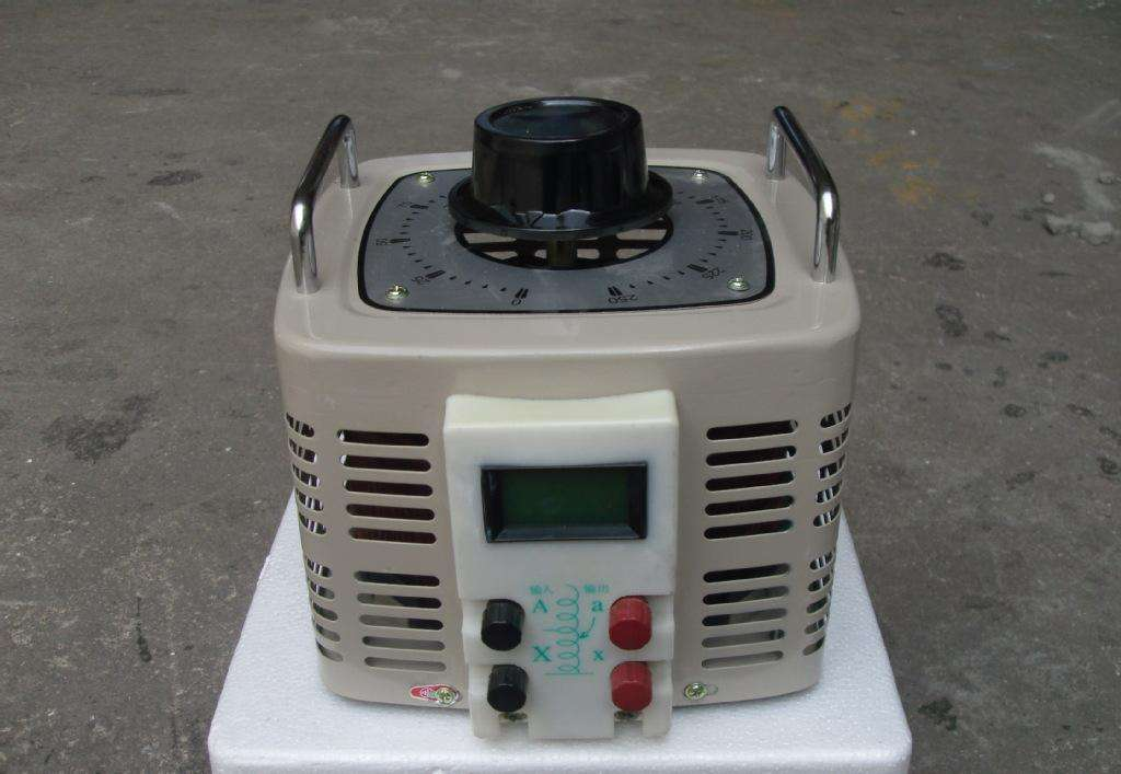 单相接触式调压器安装,使用与维护