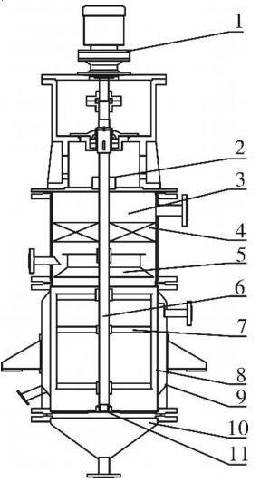 薄膜蒸发器结构图