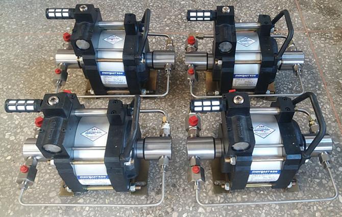 调节调节阀从而调节输入气压,输出液压得到调整 6 自动保压:无论何种图片