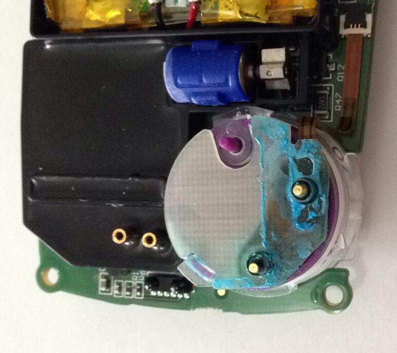 BW气体检测仪氧气传感器连接板腐蚀图