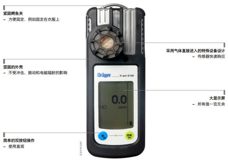 德尔格X-am5100