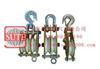 ST铝合金起重滑车(铝合金板、MC尼龙轮)