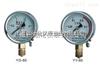 YO-150不锈钢氧气压力表0-0.1Mpa
